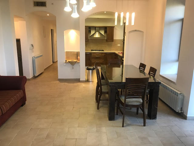 Large 3 Bedroom Apartment,Partially Furnsied
